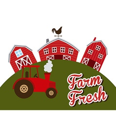 Farm fresh vector