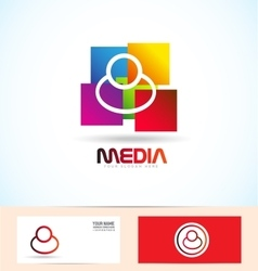 People media logo vector