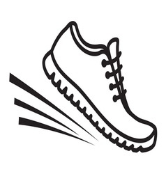 Running shoes icon4 vector