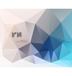 Abstract modern crystal background vector