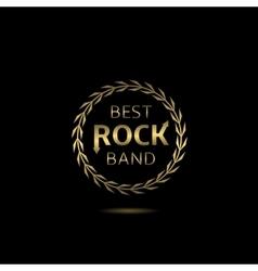 Best rock band vector image