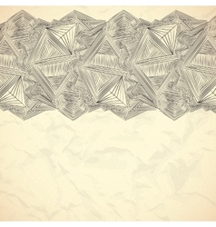 Abstarct lines frame background template vector