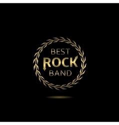 Best rock band vector image vector image