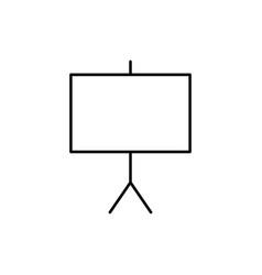 canvas icon vector image vector image