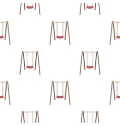 Swing seat icon in cartoon style isolated on white vector