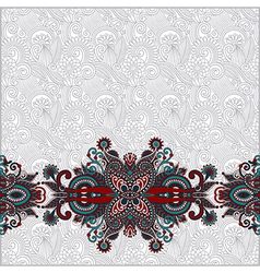 vintage ornamental template vector image vector image
