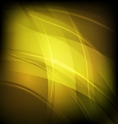Abstract background with yellow line wave vector