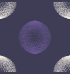 Abstract ultra violet scribble circle seamless vector