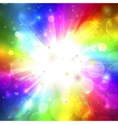 Colorfull phantasmagoria vector image vector image