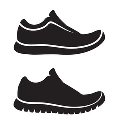 Running shoes1 resize vector image vector image