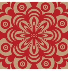 Sixties wallpaper design vector