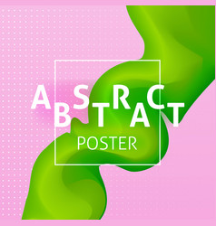 Abstract colorful poster concept vector