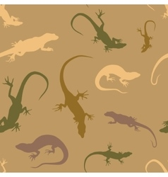Lizard pattern vector