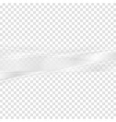 Grey abstract transparent stripes background vector