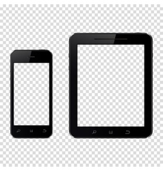 Smartphone and tablet pc vector image