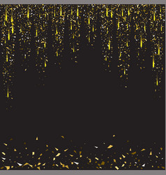 abstract gold glitter splatter background for the vector image