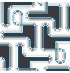 Abstract line design background vector