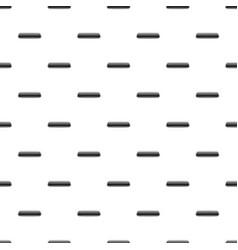 Black rectangular button pattern vector