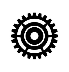 Gear cogwheel mechanical vector
