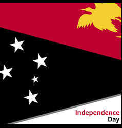 Papua new guinea independence day vector