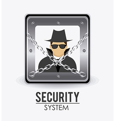 Security system design vector