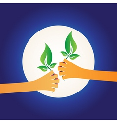 Share green vector