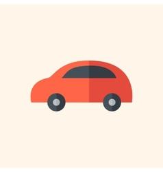 Car flat icon vector
