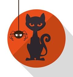 Happy halloween design vector