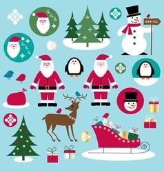 Santa clipart vector