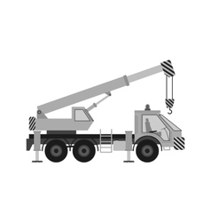 Heavy crane vector