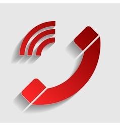 Phone sign vector