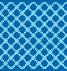 Abstract seamless pattern geometric blue vector