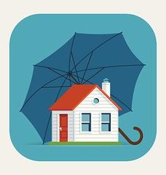 Safe house icon vector