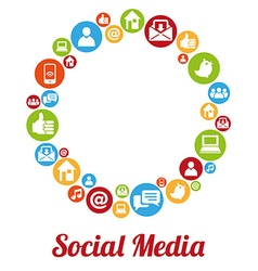 SocialMIcon vector image