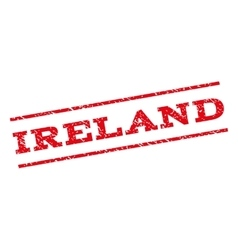 Ireland watermark stamp vector