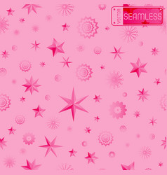 Glamour pink seamless texture background with vector