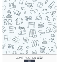 Construction wallpaper black and white build vector
