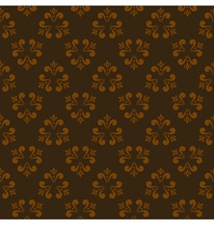 brown seamless abstract pattern 2 vector image vector image