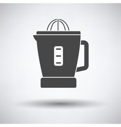 Citrus juicer machine icon vector