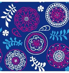 cute seamless wallpaper vector image vector image