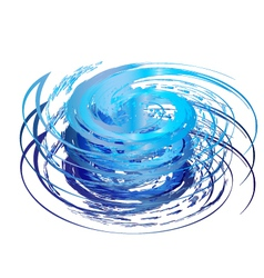 Hurricane icon vector image