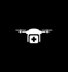 Special delivery icon flat design vector