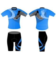 Sportswear fashion design vector