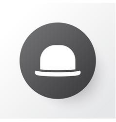 Fedora icon symbol premium quality isolated vector