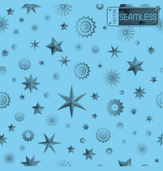 Glamour cyan seamless texture background with vector