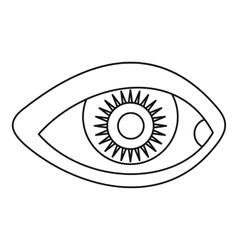 Human eye icon simple style vector image vector image