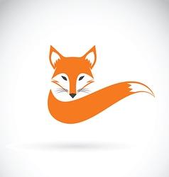 Image of a fox design vector