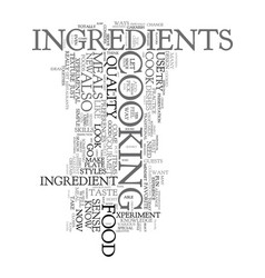 yes you can be a food gourmet and a skilled vector image