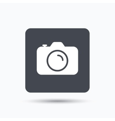 Camera icon professional photocamera sign vector