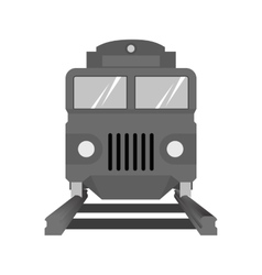Rail car vector